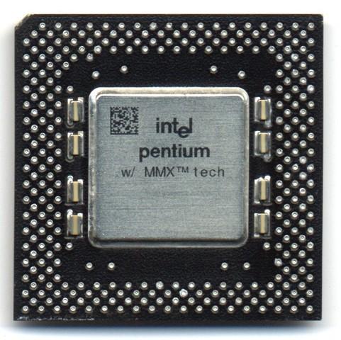 Процессор Intel Pentium P55 (Pentium MMX)