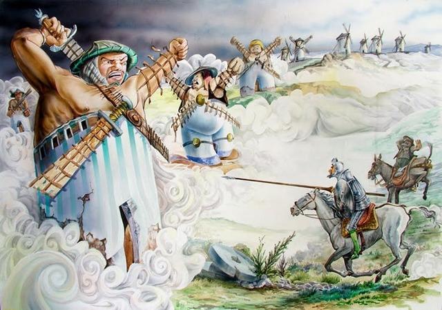 8 Junio 1605 La Aventura de Los Molinos