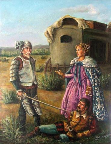 12 Junio 1605 Encuentro con El Vizcaino