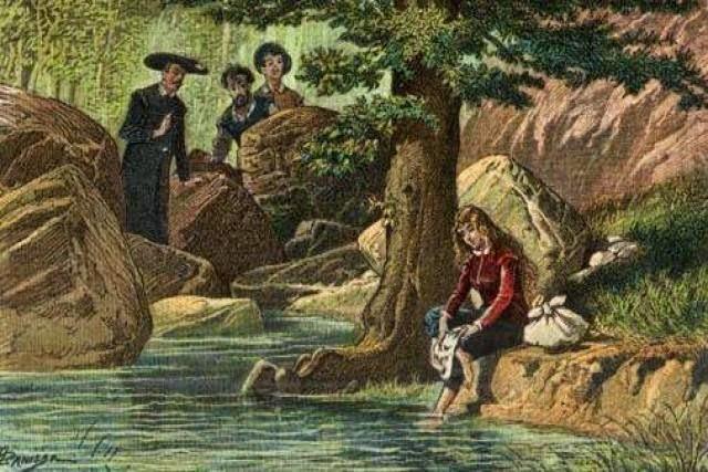 30 Junio 1605 La Aventura en Sierra Morena (El Cura y el Barbero)