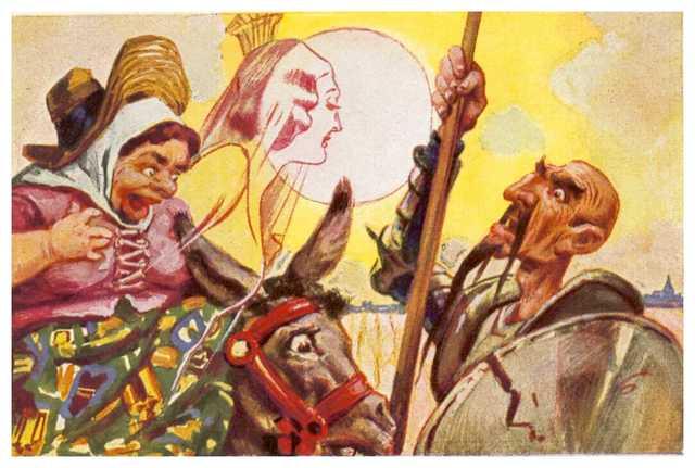 25 Julio 1605 Don Quijote con su Dulcinea