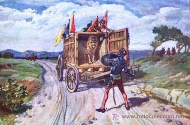 1 Agosto 1605 La Aventura de los Leones