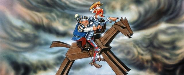 13 Agosto 1605 El Viaje en el Caballo Clavideño