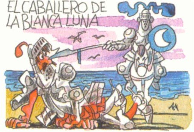 25 Agosto 1605 El Enfrentamiento con el Caballero de la Blanca Luna