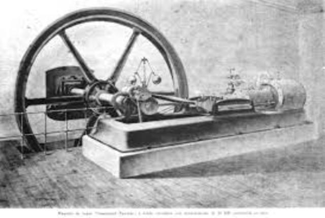 Primera máquina vapor en España