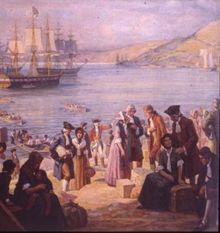 America and the loyalists