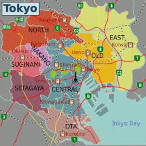 Tokyo, The New Capital Of Japan