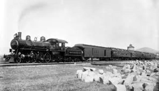 Japan's First Railway is Built
