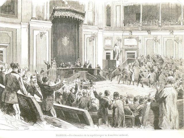 Proclamación I República