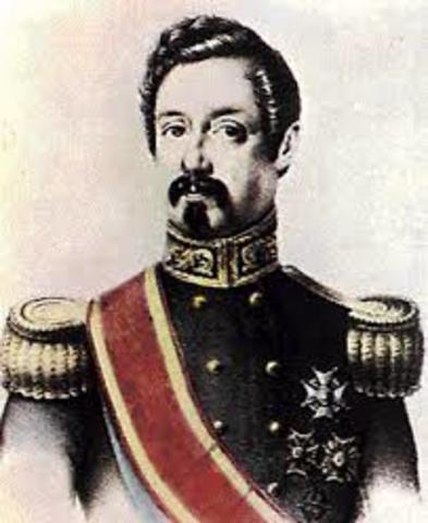 Nuevo gobierno de moderado de Narváez