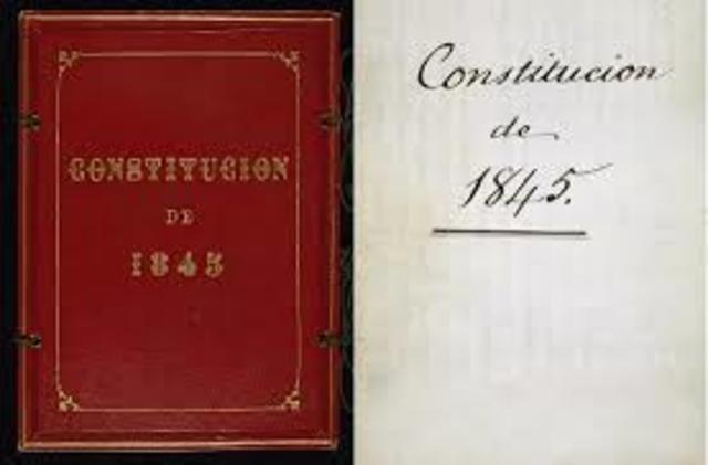 Constitución Moderada de 1845