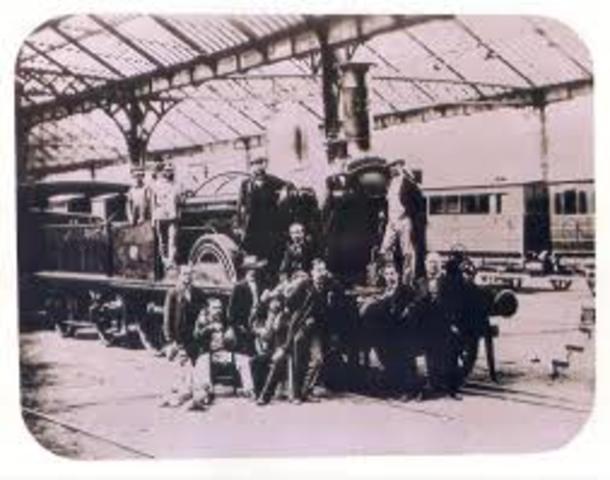 Primer ferrocarril Barcelona-Mataró