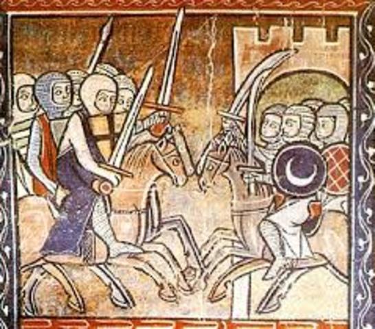 CONQUISTA DE MÉRIDA Y BADAJOZ (1230)