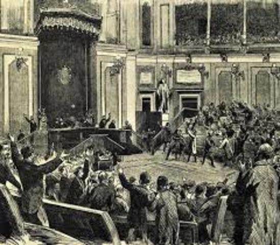 Cortes constituyentes por el sufragio universal