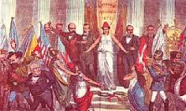 República del 74 presidida por Serrano