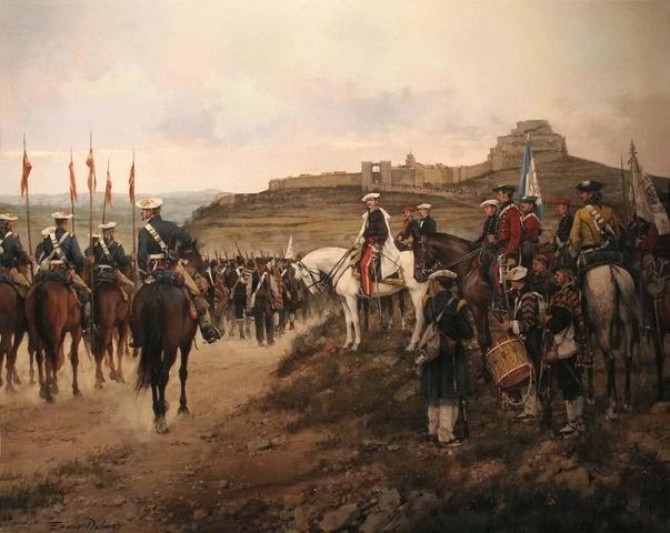 Fin de la Guerra Carlista: derrota del General Cabrera