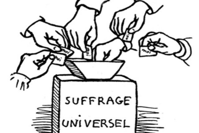 Cortes constituyentes por sufragio 'universal'