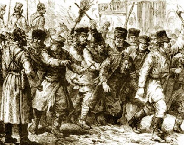 Persecuciones generalizadas con los judíos en Castilla y Aragón