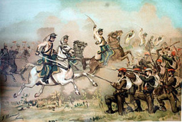 Comienzo tercera guerra carlista