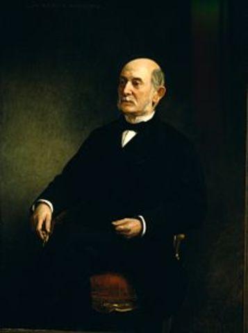 O´Donell funda la Unión Liberal ( retratado:Jose de Posada Herrera)