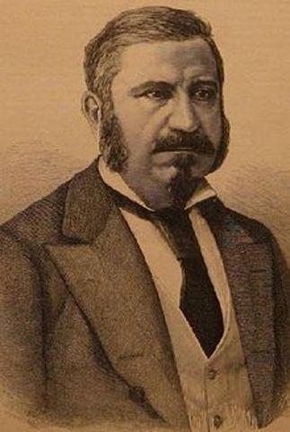 Regreso de Narváez: gobierno autoritario (retratado: Manuel Orovio)