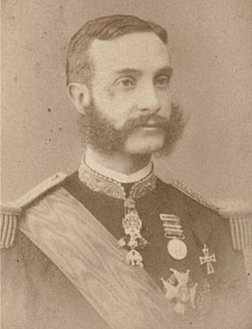 Pronunciamiento del General Martínez Campos.