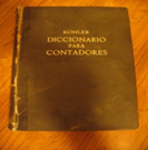Por primera vez el término Hoja de Cálculo escrito en un diccionario, el diccionario de Kohler.