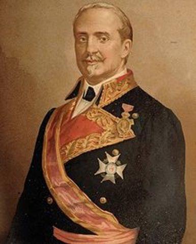 O'Donell sustituye a Espartero como Jefe de Gobierno