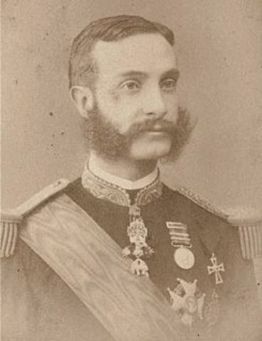 Proclamacion de Alfonso XII como Rey de España