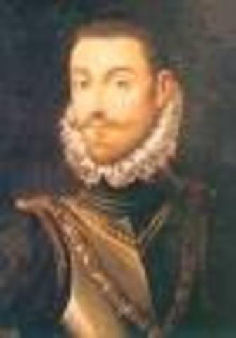 Comienzo del reinado de Carlos I