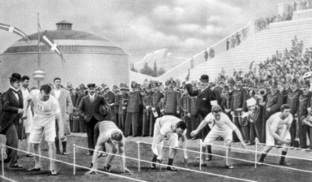 The International Olympic Games are Established
