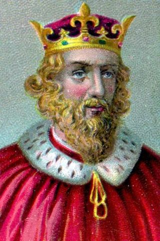 King Alfred saves the English language and makes the first translation to English