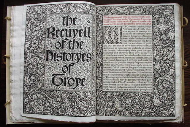 The first book printed in English