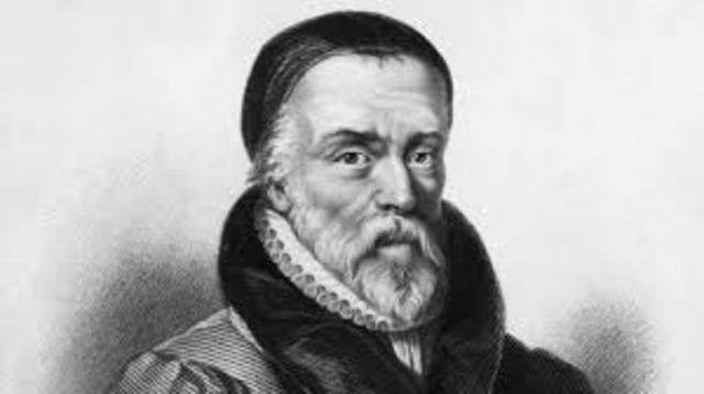 William Tyndale translates for the first time the Bible to English