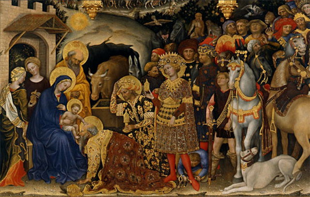 Painting in Florence and Rome: Adoration of the Magi
