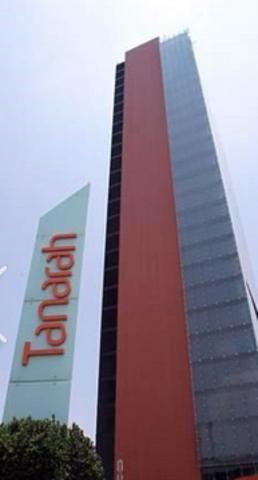 Recorte de torre en Plaza Tanarah