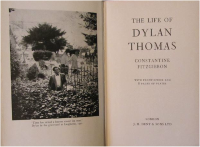 Dylan Marlais Thomas (27 October 1914 – 9 November 1953) was a Welsh poet and writer whose works