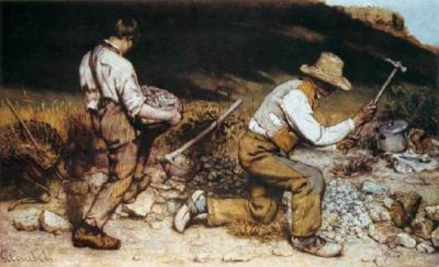 The Stonebreakers - Gustave Courbet
