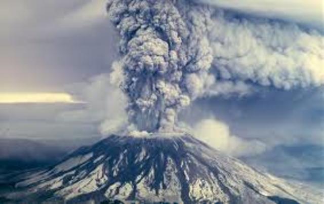 Eruption of Mt. St. Helens