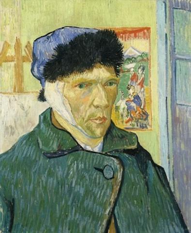 Van Gogh Self Portrait with Bandaged Ear