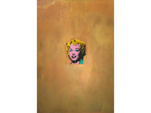 Gold Marilyn Monroe - Andy Warhol