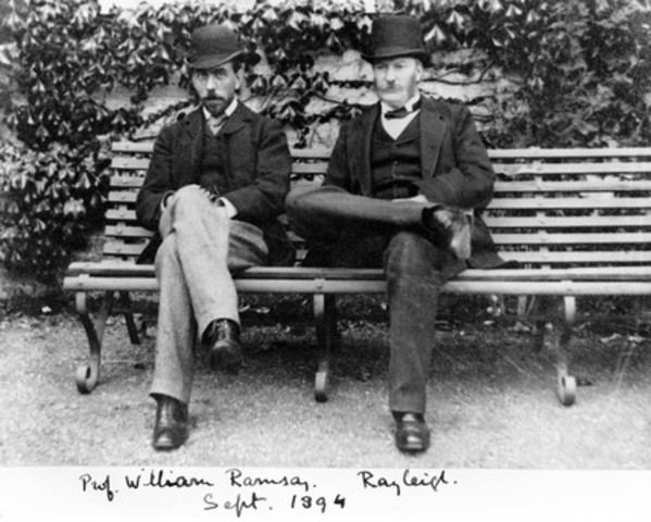 Sir William Ramsay & Lord Raleigh