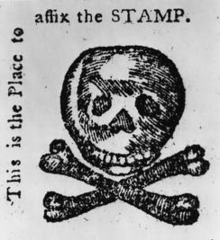 Stamp Act's contribution to colonial unrest
