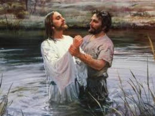 Jézus megkeresztelése