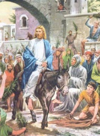 Bevonulás Jeruzsálembe