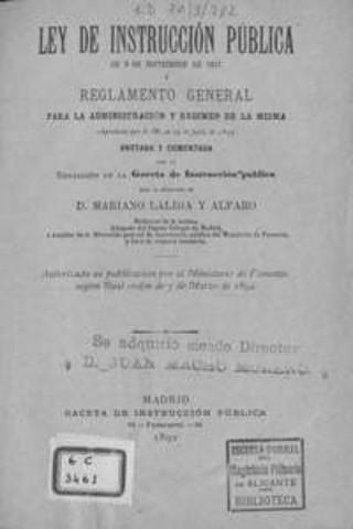 Se promulga la Ley de Instrucción pública para el Distrito Federal y los Territorios Federales