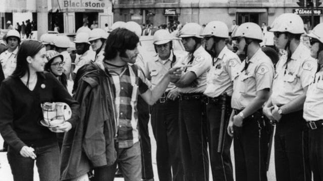 Riots at the Democratic Convention in Chicago