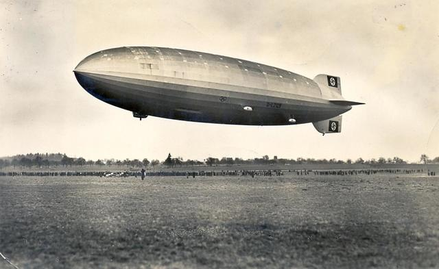 The Hindenburg's first flight!