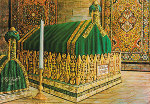 The Death of Prophet Muhammed