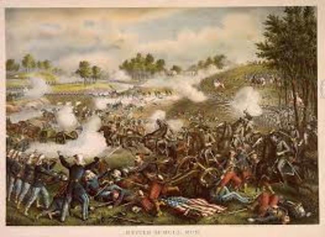 1st Bull Run Creek (Battle)